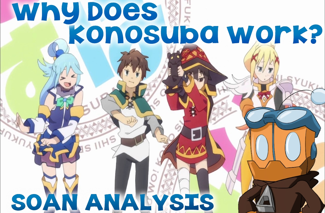 Why Does KonoSuba Work?